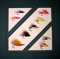 Warren Erholm selected flies
