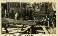 Lower Baker River dam construction 1925-06-22 3rd Floor P.H.