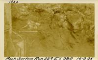 Lower Baker River dam construction 1925-10-03 Rock Surface Run #229 El.380