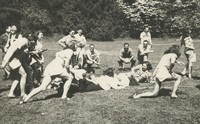 1946 Campus Day: Tug-of-War