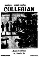 Western Washington Collegian - 1961 December 8