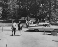 1970 Students on Campus