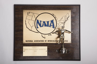 Track and Field (Men's) Plaque: NAIA District 1 Champions, 1983