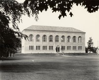 1928 Library: North Facade
