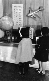 1943 Display Case In Campus School Building Main Entrance