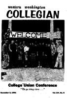 Western Washington Collegian - 1961 November 3