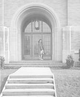 1943 Campus School Building Main Entrance