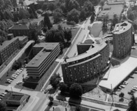 1975 Aerial View: North Campus