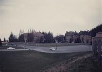 1958 Library, Athletic Field, and Old Main