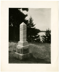 Monument - English Camp, San Juan Island