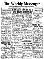 Weekly Messenger - 1917 October 20