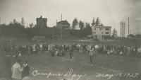 1927 Campus Day: Stilts Race