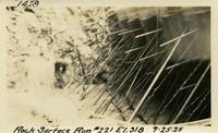 Lower Baker River dam construction 1925-09-25 Rock Surface Run #221 El.318