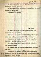 AS Board Minutes 1944-05