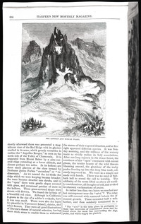 Mountaineering on the Pacific (copy of page 10 of article from Harper's New Monthly Magazine)