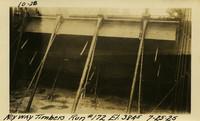 Lower Baker River dam construction 1925-07-25 Key way Timbers Run #172 El.3845