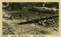 Lower Baker River dam construction 1925-01-04 Upper Coffer Dam