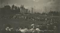 1927 Campus Day: Sack Race