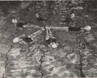 Blue Barnacles Swim Club, Members of the Blue Barnacles Swim Club in Formation