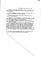 WWU Board minutes 1910 March
