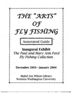 "The ""arts"" of fly fishing"
