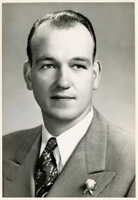 Studio portrait of Earle D. Griffin