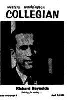 Western Washington Collegian - 1961 April 7