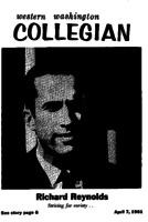 Western Washington Collegian - 1961 April 7
