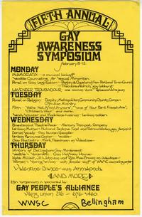 Fifth Annual Gay Awareness Symposium