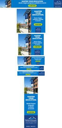 Degree Programs - Carnegie - Everett Ads Set 1 - Aug 2020