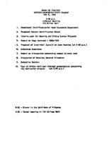 WWU Board minutes 1969 May