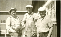 Three old timers of Kasaan who worked at the Kasaan Cannery