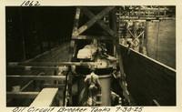 Lower Baker River dam construction 1925-07-30 Oil Circuit Breaker Tanks