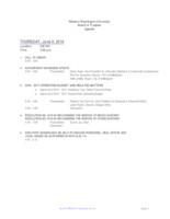 WWU Board of Trustees Packet: 2016-06-09