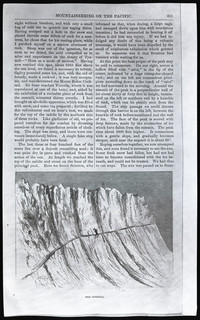 Mountaineering on the Pacific (copy of page 15 of article from Harper's New Monthly Magazine)