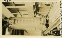 Lower Baker River dam construction 1925-09-10 Main Transformer at P.H.