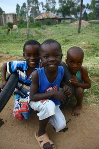 Trevor, Junior, and Steve - Kenya