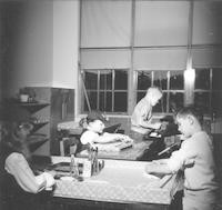 1960 Students In Workroom