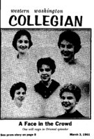 Western Washington Collegian - 1961 March 3