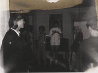 Women Standing in a Room