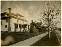 Large homes on Forest Street, Bellingham, Washington