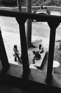 1970 Students at Ridgeway Commons