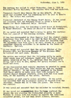 AS Board Minutes 1935-06