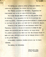 AS Board Minutes 1945-05