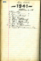 AS Board Minutes 1941-10