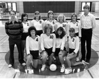 1982 Volleyball Team
