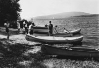 1971 Canoeing at Lakewood