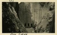 Lower Baker River dam construction 1925-07-19 Dam