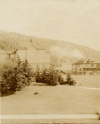 1912 Main Building: South Annex and Edens Hall