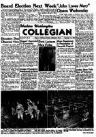 Western Washington Collegian - 1950 November 10